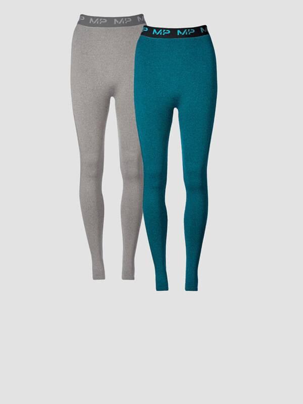 Damen Doppelpack Leggings