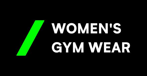 Womens gym wear