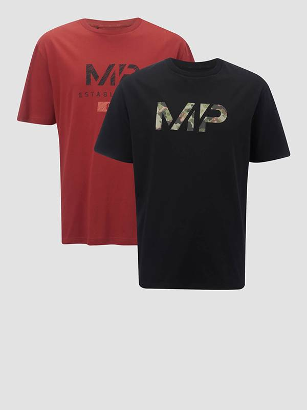 Herren Doppelpack T-Shirts