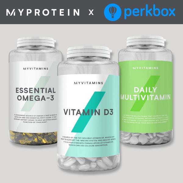 Myprotein x Perkbox