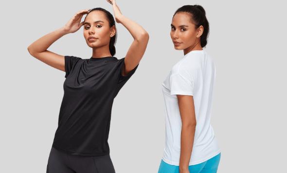 Textured Training T-shirts
