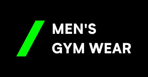 mens gym wear