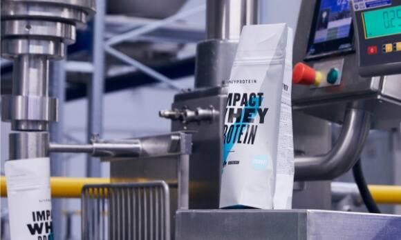 Myprotein gyártás