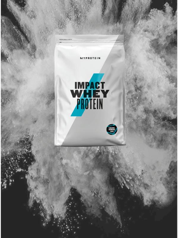 Impact Whey Protein Карамельный брауни