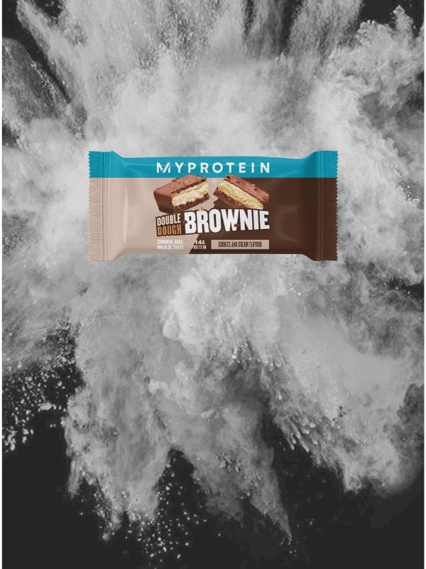 Double Dough Brownie Печенье с кремом