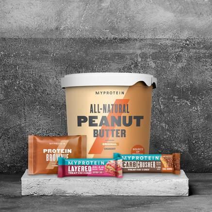 Proteīna batoiņi un uzkodas