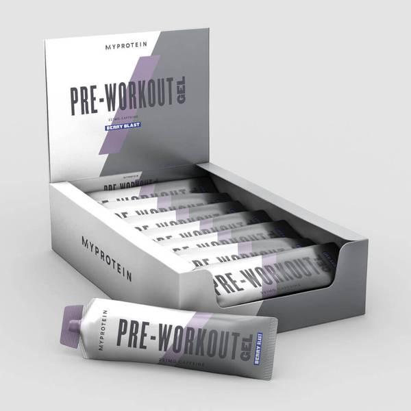 Best Pre-Workout Gel