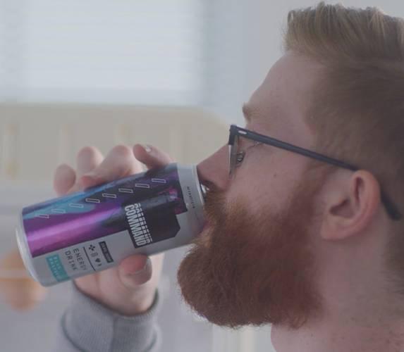 Command Energy Drink KVALITET
