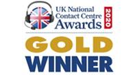 Natinal Contact Centre Gold Award
