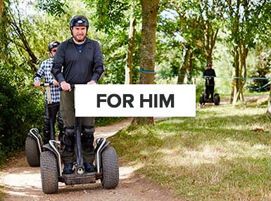 Experiences for men | Man on off-road segway