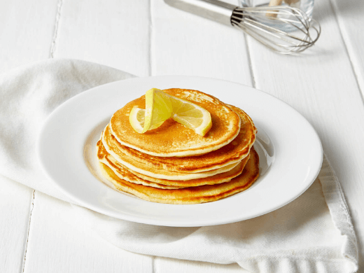 Exante Zitronen Pancakes<br>