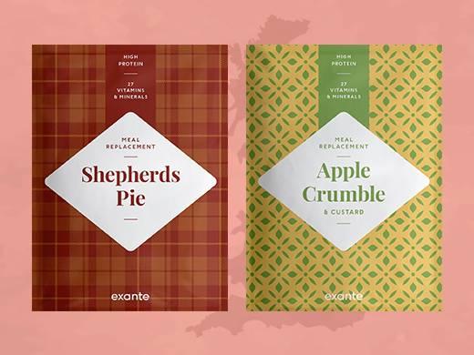 Shepherd's Pie and britischer Apfel crumble mit Vanillesauce