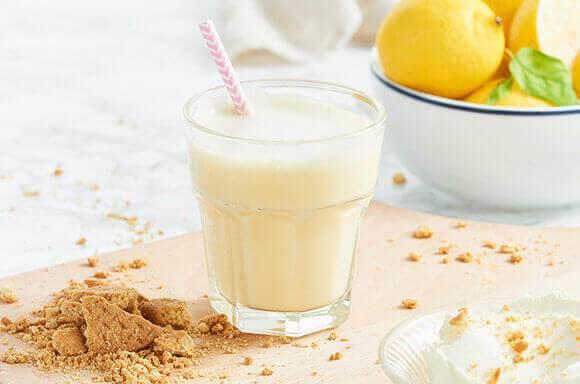 Zitronen Käsekuchen Shake | Exante Diät