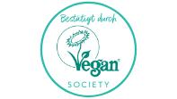 Bestätigt durch Vegan Society