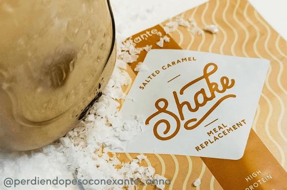 exante Salted Caramel Shake