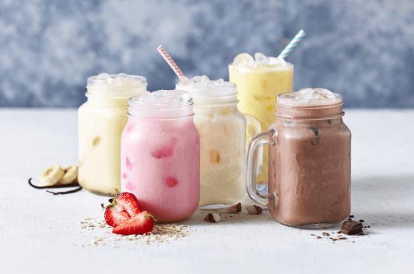 Zuckerreduzierte Shakes von Exante Diät