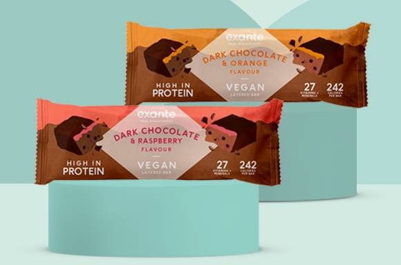 Plant-Based Protein made simple with our Vegan Layered Bar