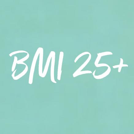BMI 25+