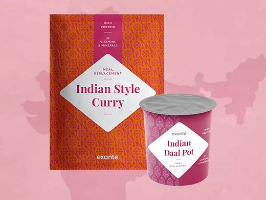 Indian stule curry and indian daal pot