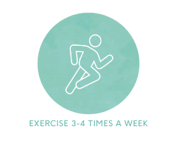 exercise 3-4 times a week