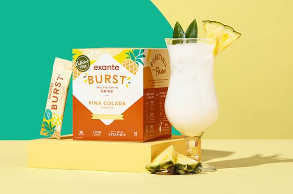 BURST Multivitamin Drink Pina Colada