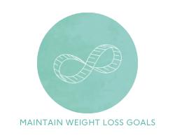 maintain weight loss goals