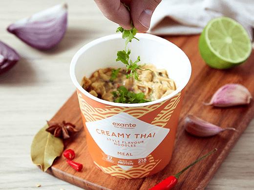Creamy Thai Noodles Pot Meals