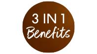 3 in 1 Benefits