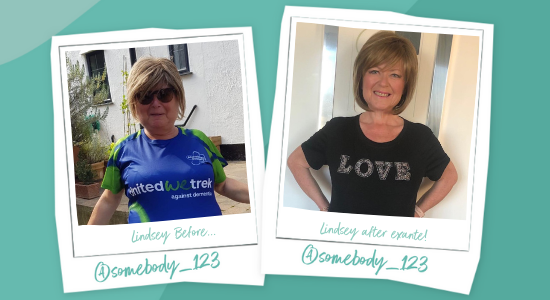 Lindsay lost 8.5 stone using exante