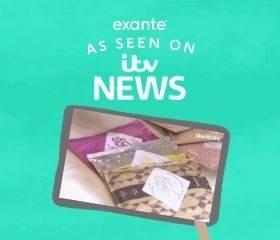 exante 'As seen on ITV news'