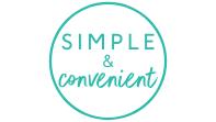 Simple & convenient