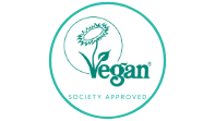 Vegan society approved