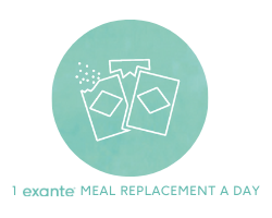 1 exante Meal Replacement a day