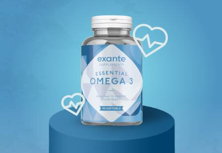 Active Lifestyle Supplements- Omega 3 Softgels