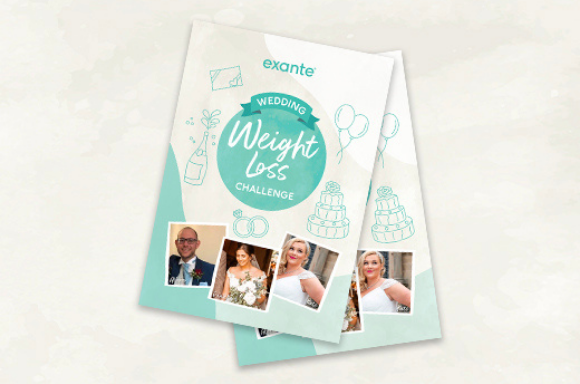Join the exante 6 week Wedding Weight Loss Challenge