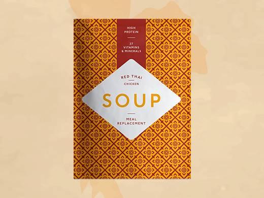 Sopa Thai de Pollo
