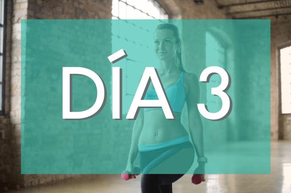 Día 3 (Semanas 7 y 8) del Plan de Entrenamiento Exante