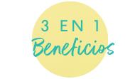 3 en 1 Beneficios