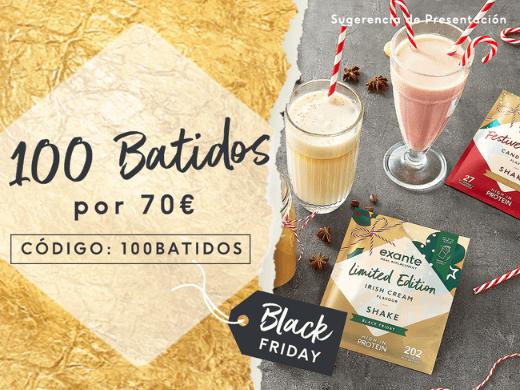 Elige tus 100 Batidos favoritos por tan sólo 70€. Usando el código: 100BATIDOS en la cesta de la compra.
