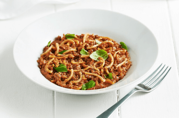 Espagueti a la Boloñesa Dieta Exante