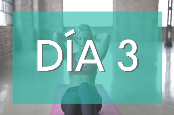 Día 3 (Semanas 1 y 2) del Plan de Entrenamiento Exante