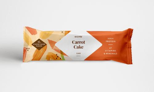 Barrita de Tarta de Zanahoria de Exante España