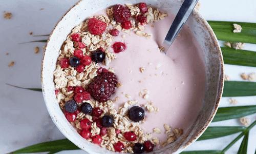 Crema di Yogurt Frutti di Bosco con Muesli