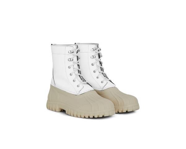 Rains X Diemme Anatra Waterproof Boots - White Reflective
