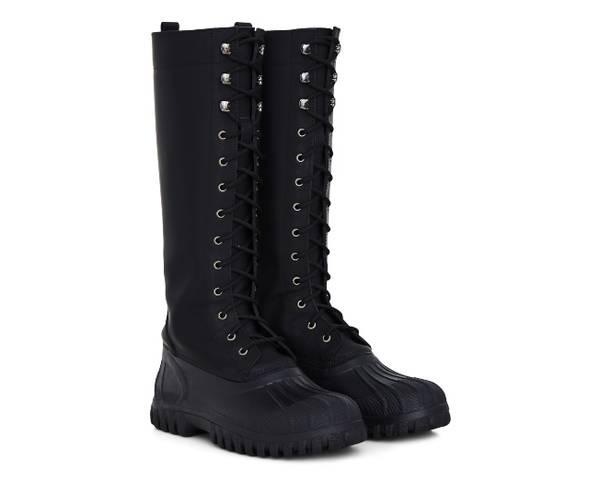 Rains X Diemme Women Anatra Alto Waterproof Knee High Boots - Black