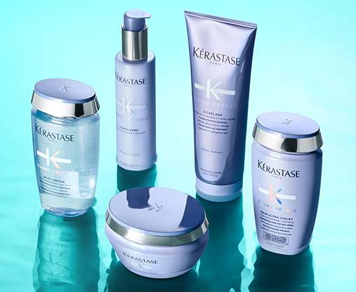 Verwöhne dein Haar mit Kérastase, einer Marke, die luxuriöse Haarpflegeprodukte für alle Haartypen anbietet.