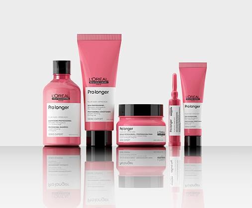 Professional range to nourish and hydrate dry hair.