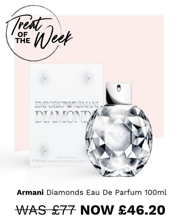Treat of the week: Armani