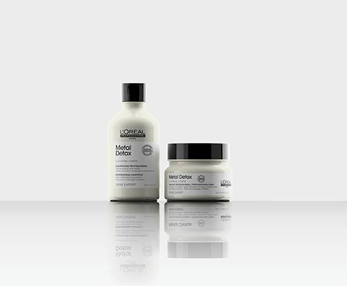 Neutralise brassy tones for your grey/white/silver hair with this professional pigmented range by Serie Expert.