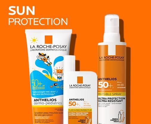 La Roche-Posay sun care & spf